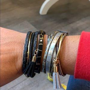 2 wrap bracelets